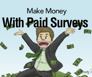 article and money paid survey image