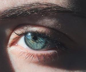 blue eyes, eyebrows, and eyes image