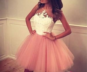 party dress, homecoming dress, and short dress image
