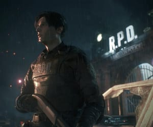 biohazard, resident evil, and leon kennedy image