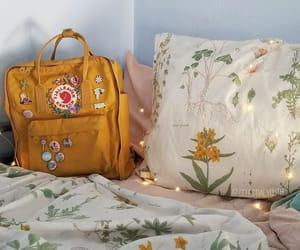 bag, yellow, and lights image