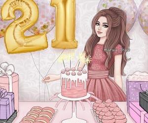 birthday and ميﻻدي image