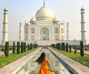 agra, india, and tajmahal image