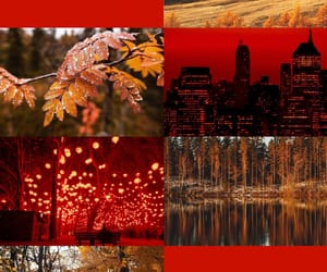 aesthetic, red, and greek gods image