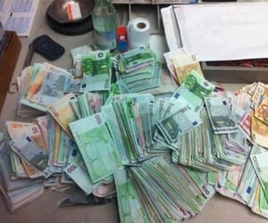money and euro image
