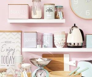 decor, kitchen, and pastel image