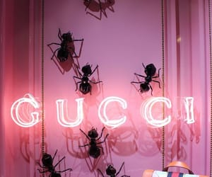 gucci, neon, and pink image