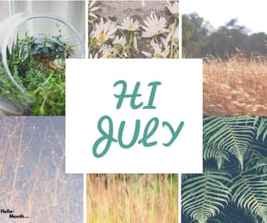 welcome july images, hello july images, and hi july images image