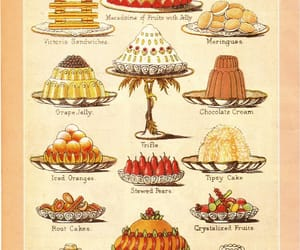 dessert, sweets, and victorian image