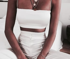 body, classy, and white top image