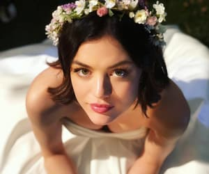 lucy hale, pll, and wedding image