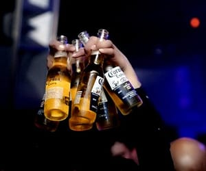 corona, drink, and party image
