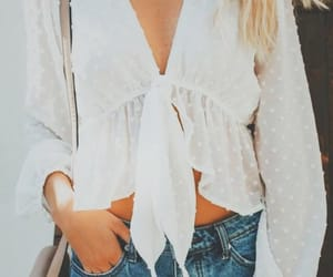 fashion, blouse, and girl image