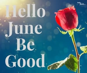 june wishes, hello june wishes, and hello june be good wishes image