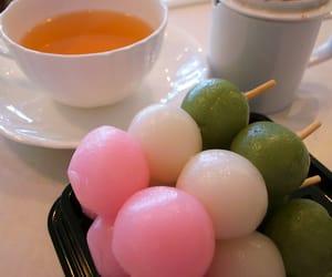 japanese food, sweets, and dango image