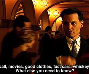 gif, johnny depp, and public enemies image
