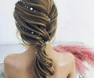 blond, fashion, and hair image