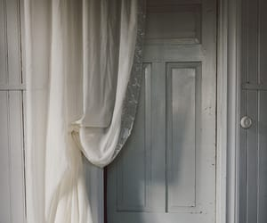 curtain, door, and home image