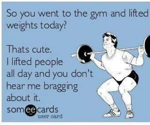 funny, nursing, and gym image