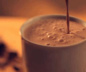 gif, chocolate, and coffee image