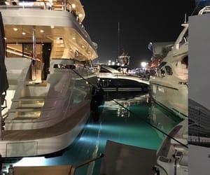 luxury, boat, and money image