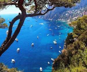 travel, capri, and summer image