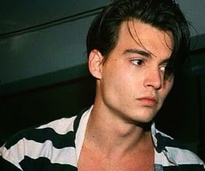 johnny depp, boy, and actor image