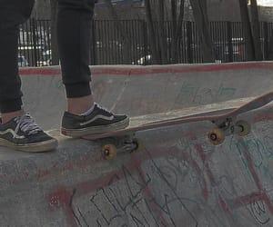 skate, skater, and trasher image