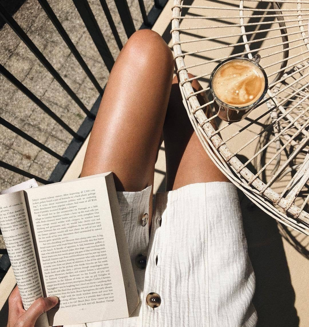 article, summer, and books image