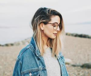 glasses, zoella, and zoe sugg image