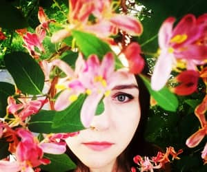 flower, summer, and portrait image