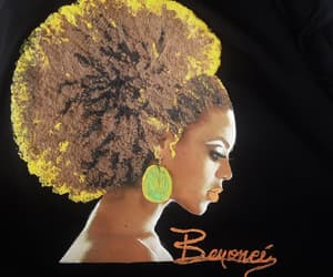 african american, natural hair, and art to wear image