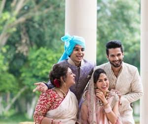 shahid kapoor, mira kapoor, and ishaan khattar image