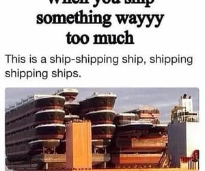 ship and shipping image