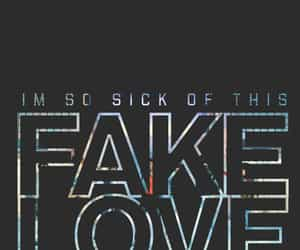 bts and fake love image