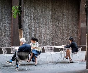 fountains, photo, and manhattan image