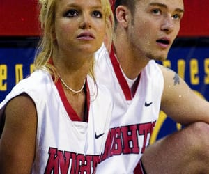 britney spears, couple, and justin timberlake image