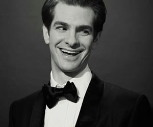 art, andrew garfield, and black and white image