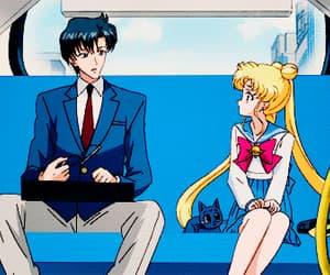 anime, blush, and cat image