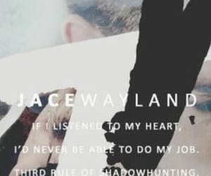 jace, jaceherondale, and shadowhunters image