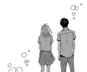anime, kakeru naruse, and saku hagita image