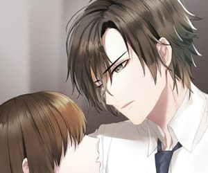mystic messenger, jumin han, and jumin image