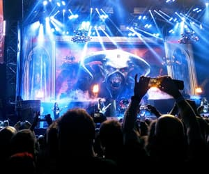 concert, iron maiden, and metal image