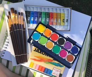 acrylic, art, and paint image