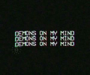 black and demon image
