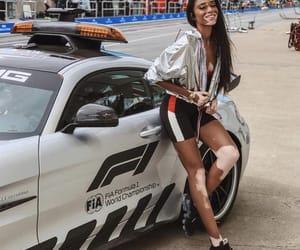 car, model, and winnie harlow image