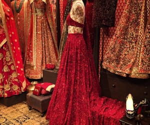 fashion, red, and wedding image