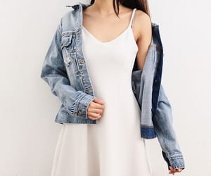 beauty, summer, and denim image