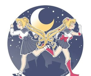 anime, background, and sailor moon image