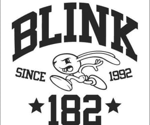 blink, blink 182, and music image
